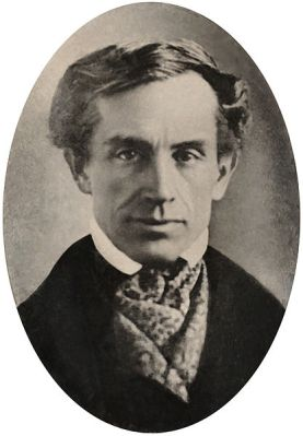 An 1840 photograph of Samuel Morse, which is kept in the Archives of American Art, Washington, D.C.