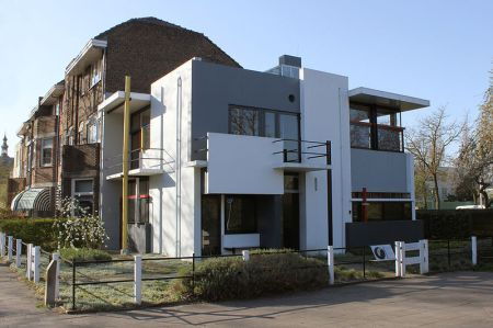 This may be the only true example of a building designed according to the principles of De Stijl.