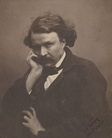 An 1855 self-portrait of Nadar.