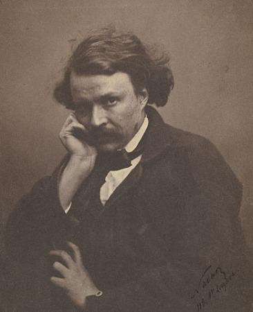An 1855 self-portrait of Nadar.