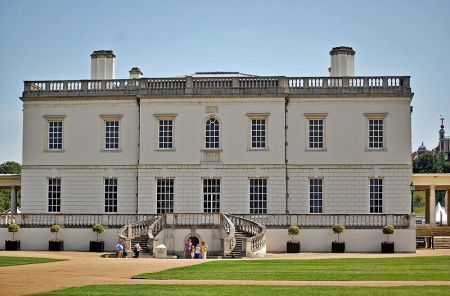The Queen's House in Greenwich, by architect Inigo Jones, may be the first Neoclassical building in England.