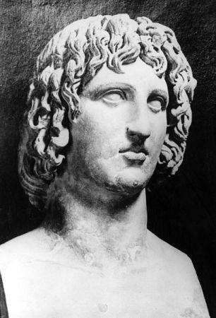 A bust of Virgil from 45 BCE.