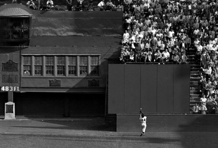 willie mays catch