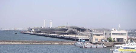 Yokohama Passenger Terminal.