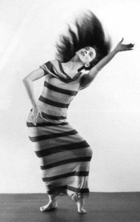 Martha Graham: Satyric Festive Song is a photograph by Barbara Morgan.