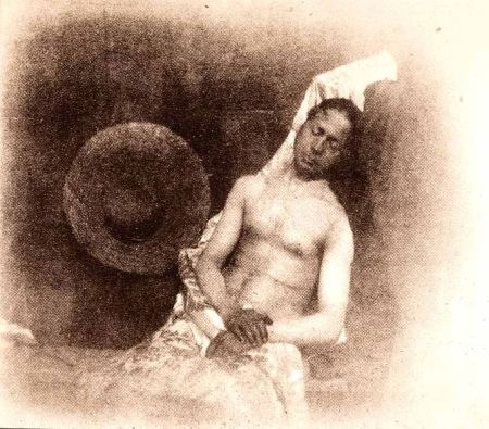Hippolyte Bayard's Self-Portrait as a Drowned Man is a comment on the way the Paris establishment ignored his photography innovations.