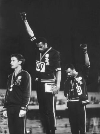 Black Power Salute at Mexico City Olympics.
