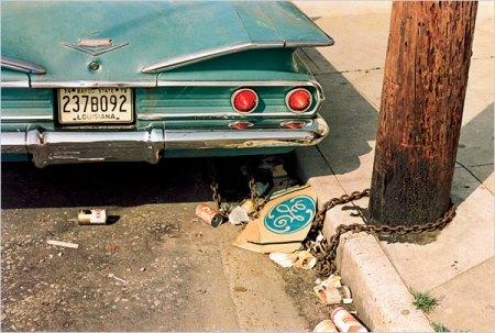 eggleston blue car
