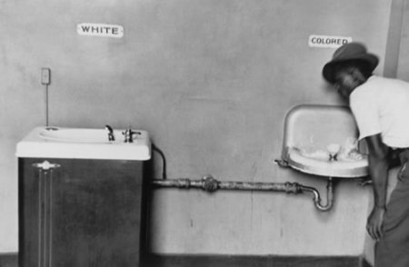 Segregated Water Fountains.