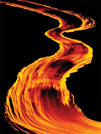 frans lanting lava river
