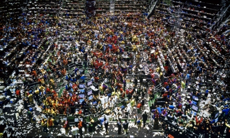 Gursky's photograph Chicago Board of Trade II.