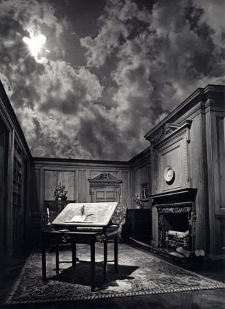 Jerry-Uelsmann-philosopher study