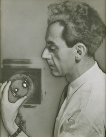 'Man Ray Self-Portrait with Camera'