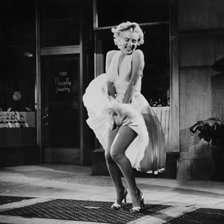 Marilyn Monroe in The Seven Year Itch.
