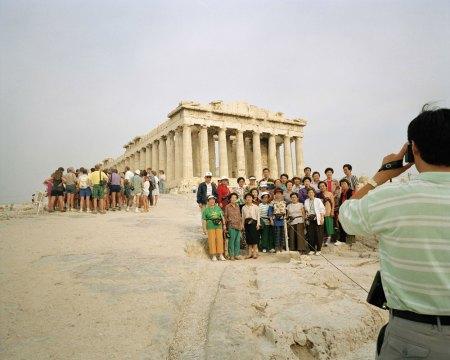 Martin Parr Greece-Athens-Acropolis-1991