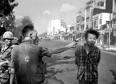 Eddie Adams won a Pulitzer Prize for his photo of South Vietnamese National Police Chief Brig Gen. Nguyen Ngoc Loan executing a Viet Cong prisoner in Saigon on Feb. 1, 1968.