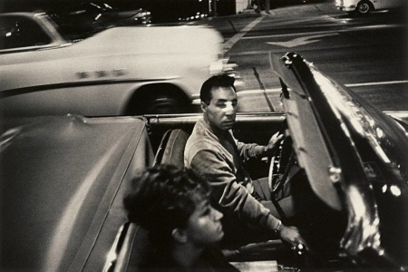 winogrand man in convertible