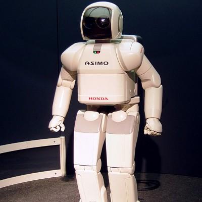 Honda's ASIMO humanoid robot.