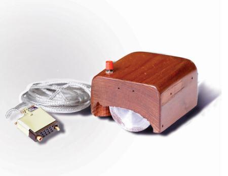 Douglas Engelbrecht's original computer mouse.
