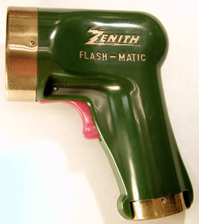 Euguene Polley's Flashmatic, from 1955.