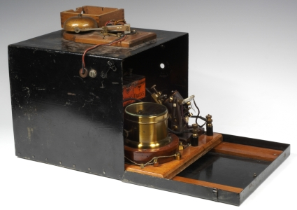 One of Marconi's first receivers, from 1896.