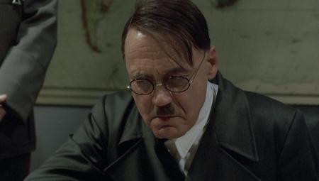 Bruno Ganz as Adolf Hitler in Downfall (2004).