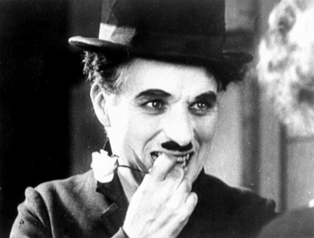 Charlie Chaplin in City Lights (1931).