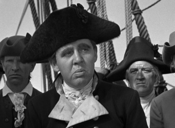Charles Laughton as Captain Bligh in Mutiny on the Bounty (1935).