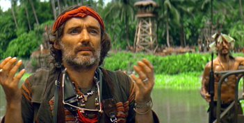 Dennis Hopper in Francis Ford Coppola's Apocalypse Now (1979).