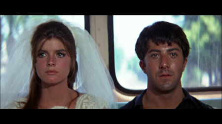 Dustin Hoffman and Katherine Ross in The Graduate (1967).
