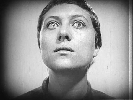 Rene Falconetti in Carl Theodor Dreyer's classic The Passion of Joan of Arc (1928).