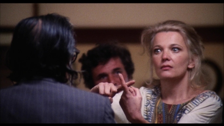 Gena Rowlands in John Cassavetes' film A Woman Under the Influence (1974).