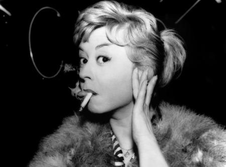Giulietta Masina in Fellini's Nights of Cabiria (1957).