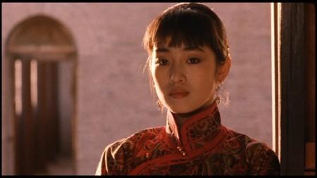 Gong Li in Raise the Red Lantern (1991).