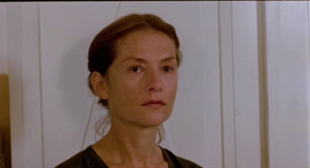 Isabelle Huppert in The Piano Teacher (2001).