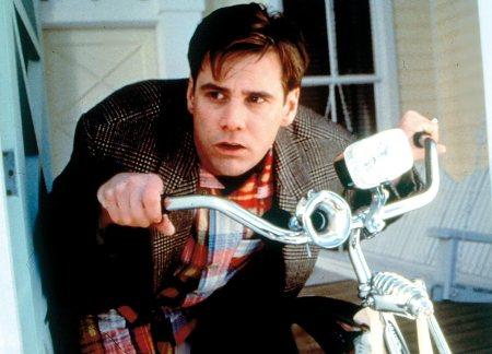 Jim Carrey in The Truman Show (1997).