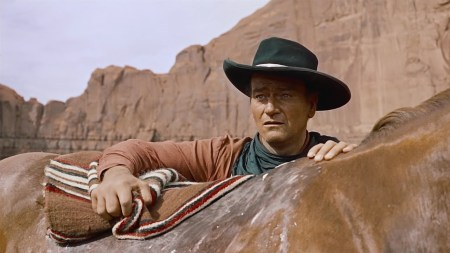 John Wayne in The Searchers.