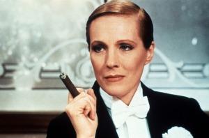 Julie Andrews in Victor/Victoria (1983).