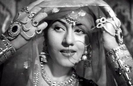 Madhubala in Mughal-e-azam (1960).