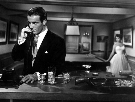 Montgomery Clift and Elizabeth Taylor in George Stevens' A Place in the Sun (1950).