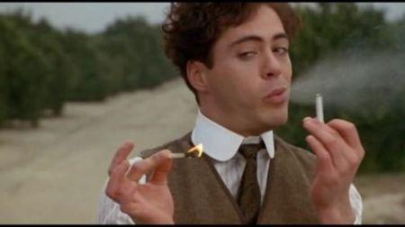 Robert Downey, Jr. in Chaplin (1992).