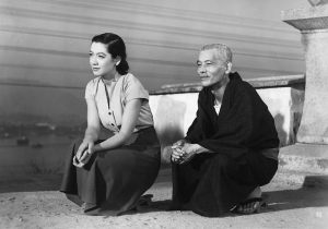 Setsuko Hara (left) and ___ in Yasujiro Ozu's Tokyo Story (1953).