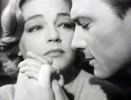 Simone Signoret and Laurence Harvey in Room at the Top (1959).