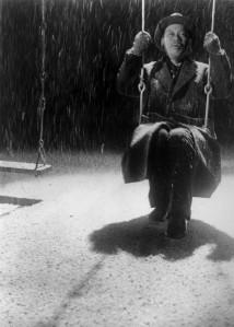 Takaski Shimura in Akira Kurosawa's Ikiru (1952).