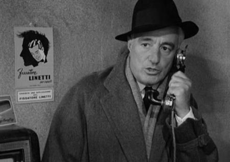Vittorio de Sica in Roberto Rossellini's Il Generale della Rovere (1958).