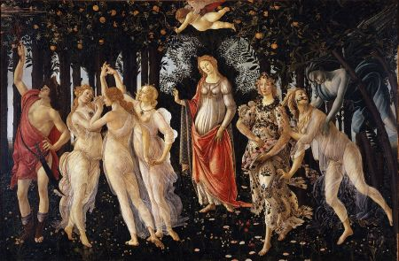 La Primavera (Spring), by Sandro Botticelli.