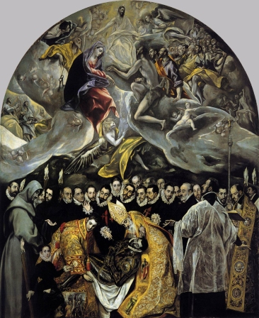 El Greco's The Burial of the Count of Orgaz.