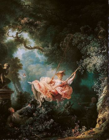 Fragonard's The Swing is a rococo masterwork.