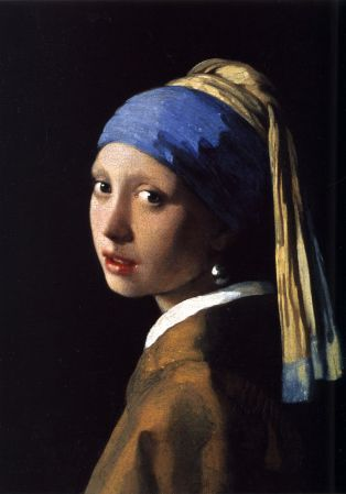 Vermeer's Girl with the Pearl Earring.