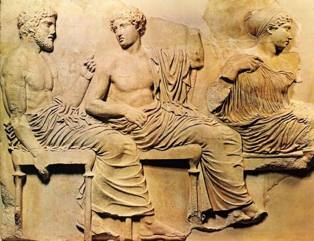 parthenon-frieze-poseidon-apollo-and-artemis